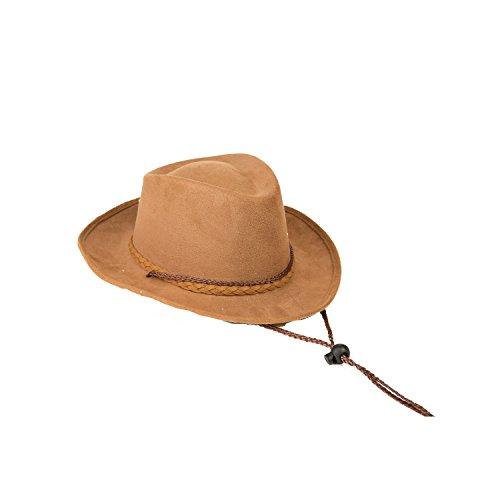 My Other Me Me-204659 Sombrero vaquero niño, Talla única (Viving Costumes 204659)