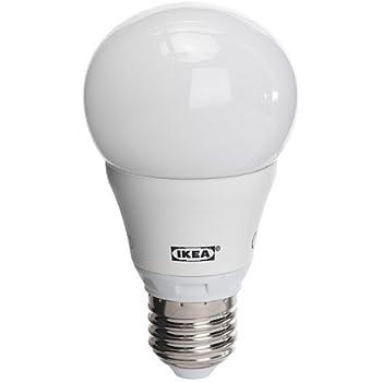 IKEA Ledare LED Leuchtmittel, E27, 600 Lumen, klar, dimmbar