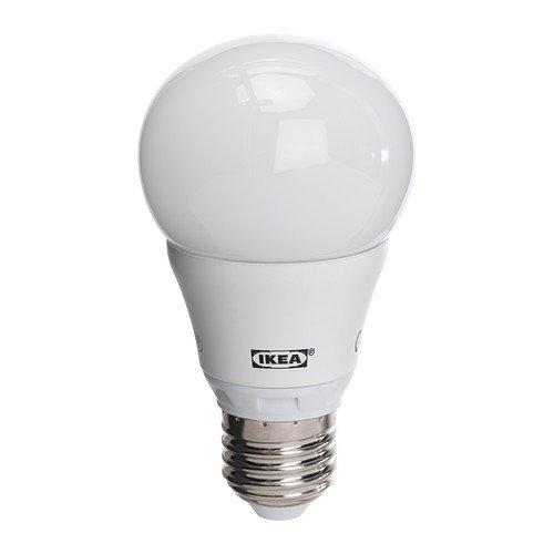 Ikea–Bombilla LED ledare led de Ahorro de energía lámpara Blanco cálido–e27–6,3W–400LM (entspr. Aprox. 40W) de 2700Kelvin