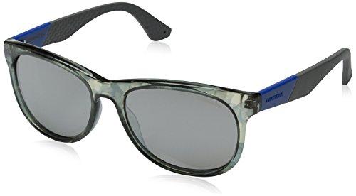 Carrera 5010/S 8HD Carrerra 5010/S 8HD Rechteckig Sonnenbrille 55, Weiß & Blau
