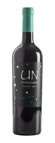 UN Garnacha Syrah - Vino Tinto - 60% Garnacha 40% Syrah - Bodegas Ejeanas - 1 Botella de 750ml