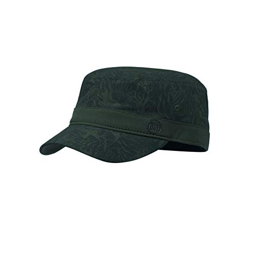 Buff Erwachsene Military Cap, Checkboard Moss Green, M/L