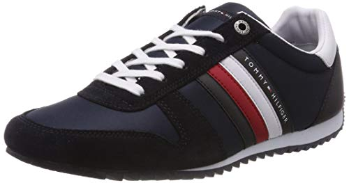 Tommy Hilfiger Essential Nylon Runner, Baskets Basses Homme