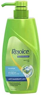 Rejoice Shampoo Anti Dandruff 3 in 1 600ml -Gives You Smooth Hair and has Anti-Dandruff ZPT which Helps Prevent The Recurrence of Dandruff in Your Hair
