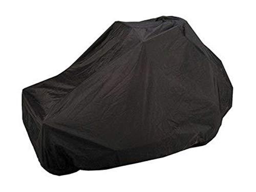 Covermates Zero Turn Mower Cover - Light Weight Material, Weather Resistant, Elastic Hem, AC & Equipment - Black