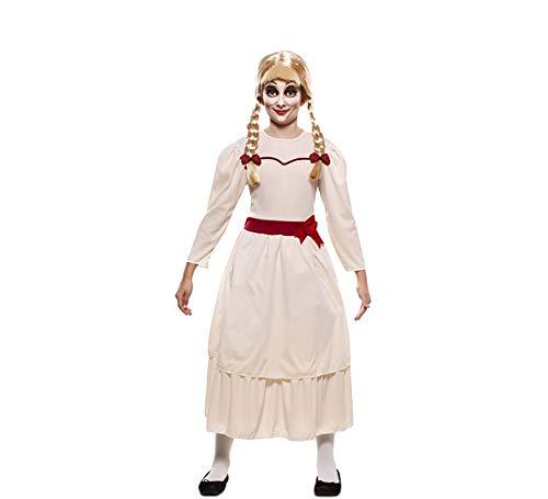 EUROCARNAVALES Disfraz de Muñeca Poseída para niña: Amazon.es ...
