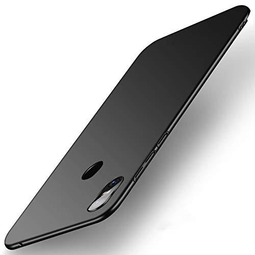 SPAK Xiaomi Mi Mix 3 Custodia,Ultra Slim PC Protettiva Case Cover Custodia per Xiaomi Mi Mix 3 (Nero)