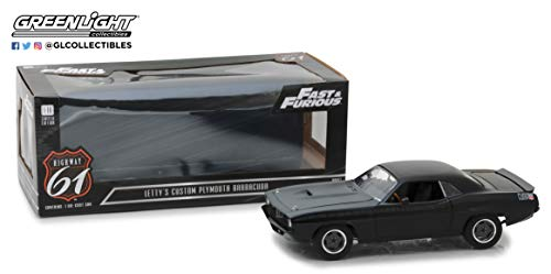 Highway 61 Letty`s 1972 Plymouth Barracuda Fast & Furious 1:18