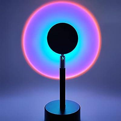 Sunset Projection Lamp, 180 Degree Rotation Rai...