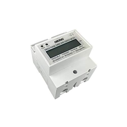 Disyuntor 10 (100) A 110V / 220V 60Hz Monofásico De Tres Hilos...