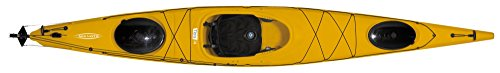 Tahe Marine Titris 14 Robson Wanderkajak Kajak Tourenkajak Wassersport Boot, Farbe:Blau-Weiss, Ausstattung:Ohne Skeg oder Ruder