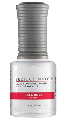 LeChat Perfect Match Duo Vernis à Ongles UV/LED Jack Rose 2 x 15 ml