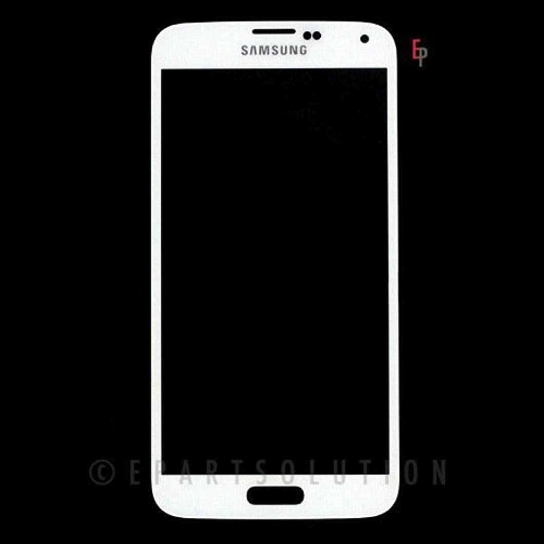 ePartSolution-Samsung Galaxy S5 i9600 G900 Front Glass Outer Lens Touch Screen Digitizer Lens Cover White Replacement Part USA Seller