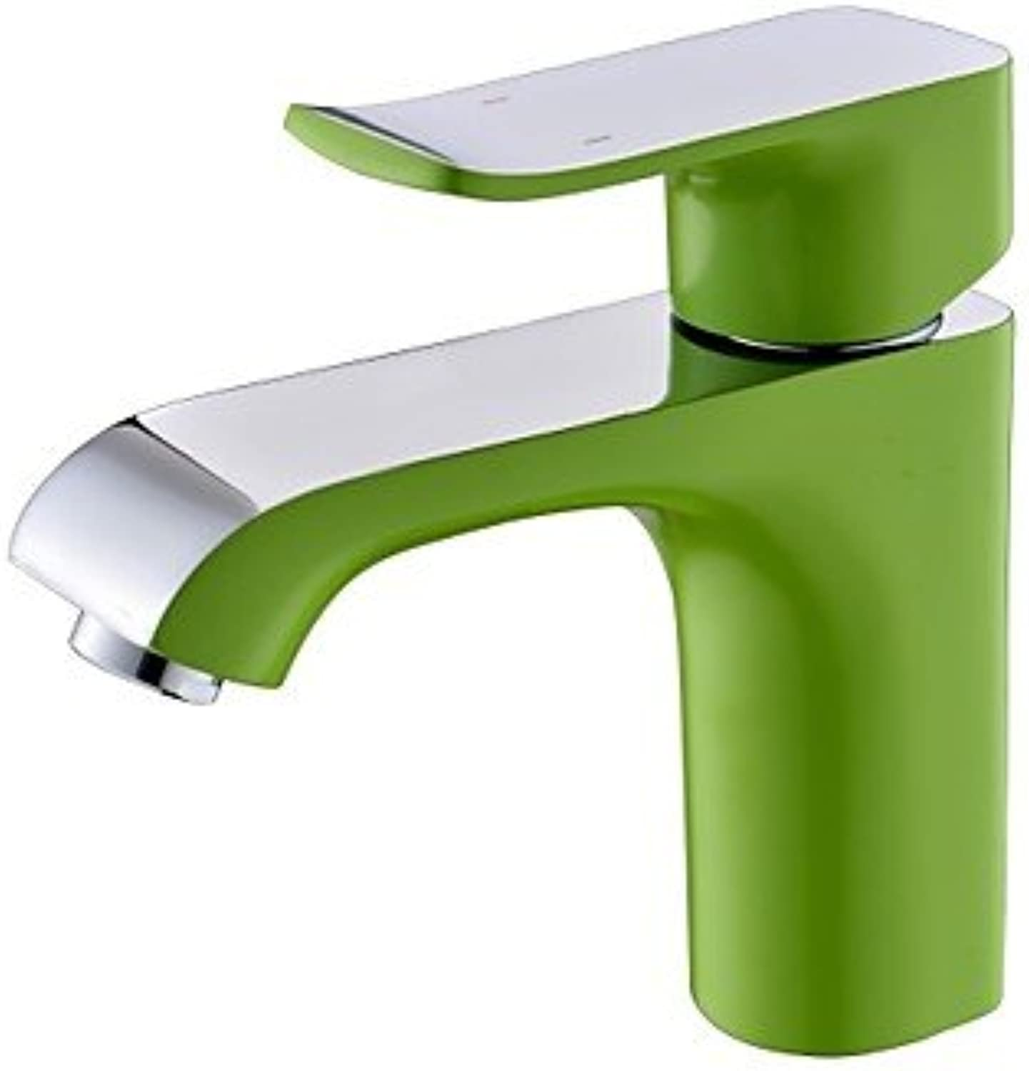 AA Faucet£? Contemporary popular single painting a bathroom sink faucet holes