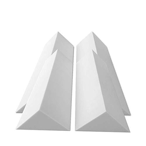4 Bass Trap Eckabsorber Basotect ® G+ je 24x24x100 cm HiFi Akustik Elemente