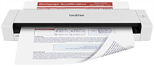 Best Buy! Brother Mobile Color Page Scanner, DS-720D, Fast Scanning, Compact and Lightweight, Duplex...