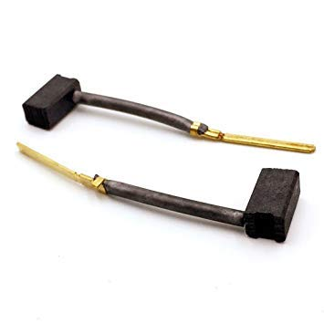 M18 Replacement (2 Pack) Carbon Brush Set Compatible with DeWalt & Porter Cable Power Tools replacement for Porter Cable 445861-25# M18-2pk