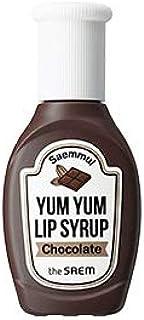 the SAEM ザセム セムムル ヤムヤム リップ シロップ ティント 4色 Saemmul Yum Yum Lip Syrup Tint 10g 韓国コスメ (01-チョコレート(chocolate))