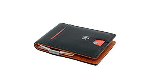 DD Dierendoo | portemonnee mannen met klem | DD Slim portemonnee portefeuille | heren portemonnee | portemonnee mannen | kleine portemonnee | RFID creditcardhouder | portemonnee cadeau.