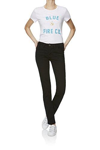BlueFire Damen Jeans Nina Slim Fit schwarz (15) 30/34