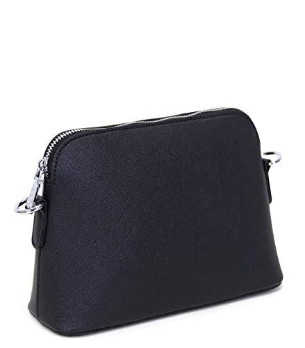V&M Damen Zierliche Abendtasche Handtasche, Umhängetasche mit langem Schulterriemen und Trageschlaufe