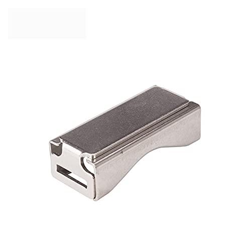 TIES DE ZIP 10 PCS Acero inoxidable Almighty Clip Trealage Señalaje Groove...