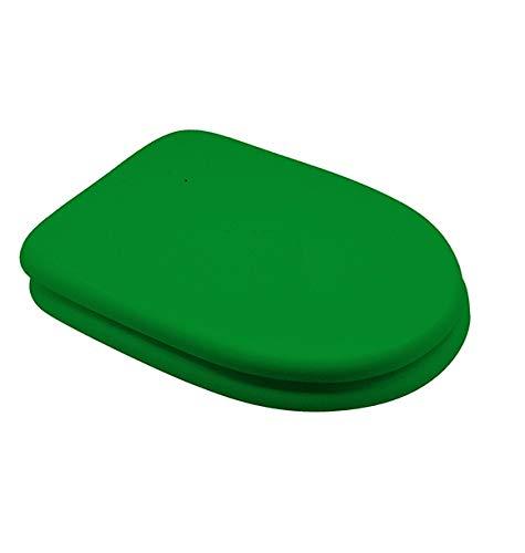Ferramenta Beltrami Copriwater Coprivaso Tavoletta Sedile WC per RAK Vaso Compact Verde Bertocci