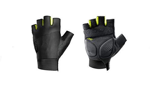 Northwave Extreme Fahrrad Handschuhe kurz schwarz/gelb 2021: Größe: M (8)
