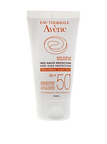 Avène Solar Crema Pantalla Física Piel Intolerante SPF 50 - 50 ml