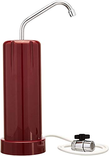 Pure Blue G30 Classic Countertop Water Filter, Red