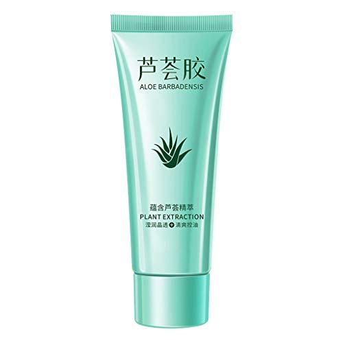 YusellYu_Beauty-Werkzeuge Aloe Gel Feuchtigkeitslotion | Yusell Gesichtscreme DIY Handwäsche Aloe Vera 40g