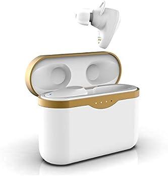 WinCret True Wireless Earbuds with Wireless Charging Case