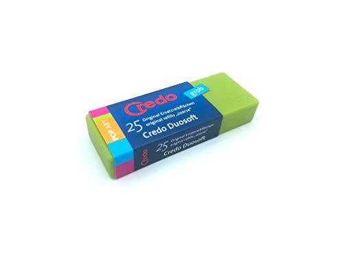 CREDO Ersatzreibflächen für Duosoft Fußfeile, grob, 25 Stück