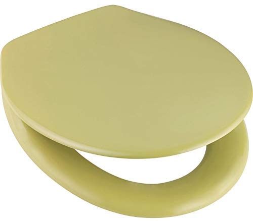 WC Sitz Toilettendeckel Klobrille Duroplast moosgrün grün