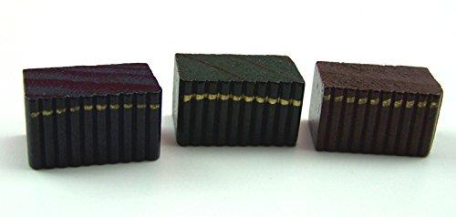 Unbekannt Creal 73360 Livres Blocs Bleu Foncé / Vert/Rouge 1:12 pour Maison de Poupée