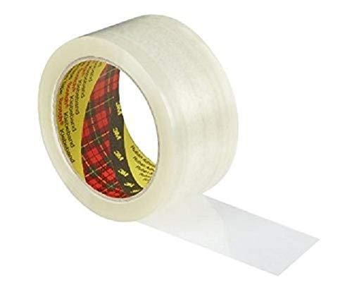 Scotch Nastro da Imballo 3M Packaging Tape Classic, Nastro Adesivo per Traslochi e Spedizioni, Confezione da 6 Rotoli, Avana/Trasparente, 50 mm x 66 m