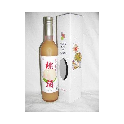 麻原酒造『すてきな桃酒』