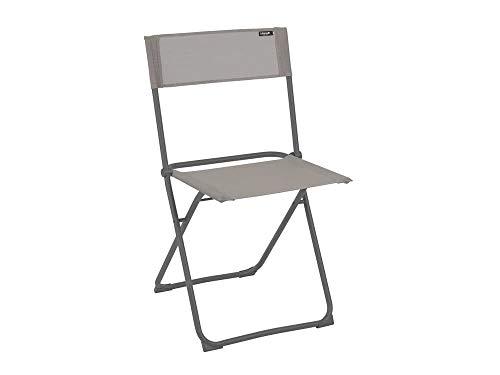 Lafuma Chaise pliante compacte, Terrasse, balcon et jardin, Balcony, Batyline, Couleur: Terre, LFM2600-8556