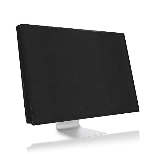 kwmobile Monitor Cover Compatible with Apple iMac 21.5' - Anti-Dust PC Monitor Screen Display Protector - Black