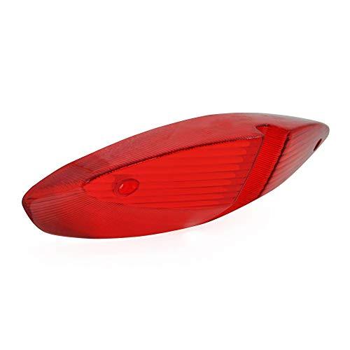 Motodak Cabochon voor achterlicht, aanpasbaar, Peugeot 50 Speedfight 2, rood
