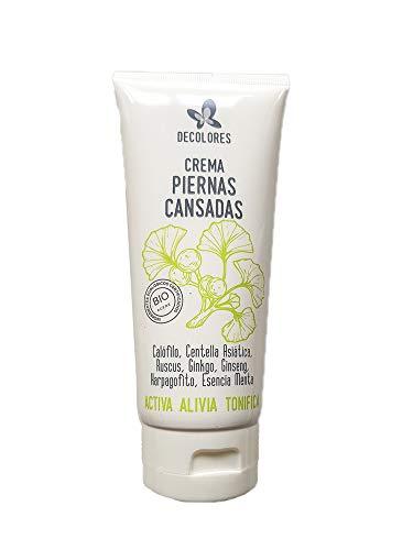 Crema para Piernas ligeras y descansadas 200ml, Crema Natural que Activa, Alivia y Tonifica