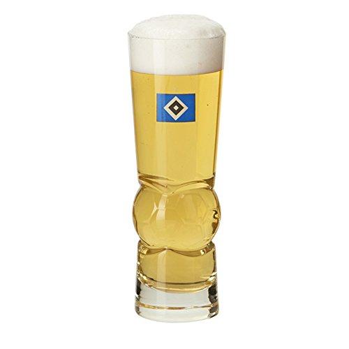 "Bierglas Glas ""Fußball"" Hamburger SV HSV"