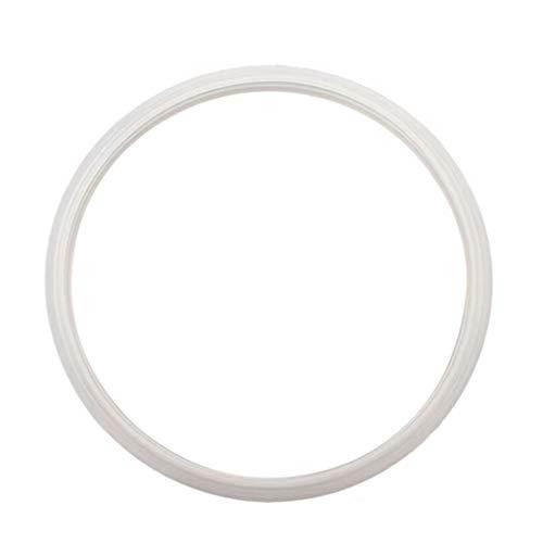 Accesorios olla a presión de acero inoxidable de anillo de caucho de silicona arandela de cuero anillo de goma olla seguridad anillo de sellado cocina 18 ~ 32cm presión ( Color : White , Size : 32cm )