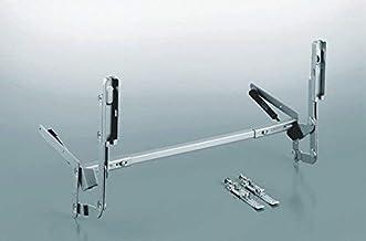 Peka HB 500 hoogliftbeslag, KB 450-600, vleugelgewicht tot 4 kg, 1 stuk, zilver, 500.0016.02