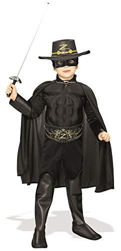 Rubies Muscle Chest Zorro Costume