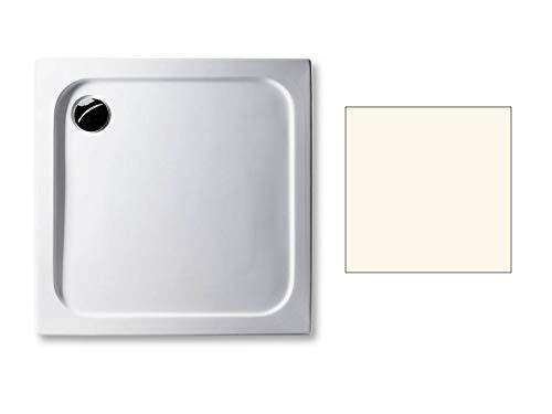 Acryl Duschwanne 80 x 80 cm Farbe: PERGAMON superflach 2,5 cm rechteckig Dusche/Duschtasse/Brausewanne
