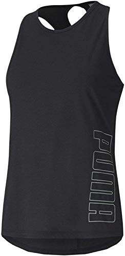 PUMA Damen Tanktop Twist It Logo, Black, M, 517421