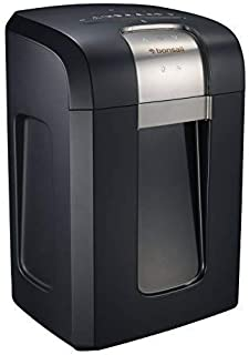 Bonsaii EverShred Pro 3S30 18-Sheet Cross-Cut Heavy Duty Shredder with 240 Minutes Running Time, 7.9 Gallons Pullout Waste...