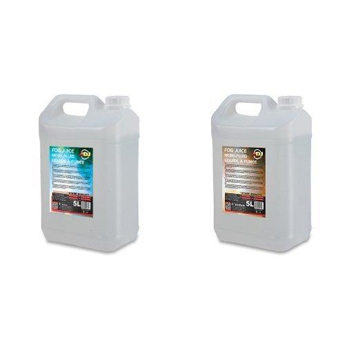 ADJ 5L Heavy Nebelflüssigkeit + ADJ 5L Medium Nebelflüssigkeit Bundle