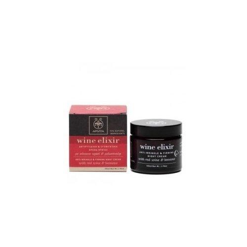 Apivita Wine Elixir Anti-Wrinkle & Firming Night Cream–1.7fl oz by salamander99